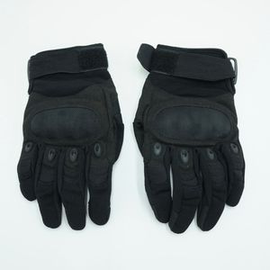 Black Motorcycle Gloves Padded